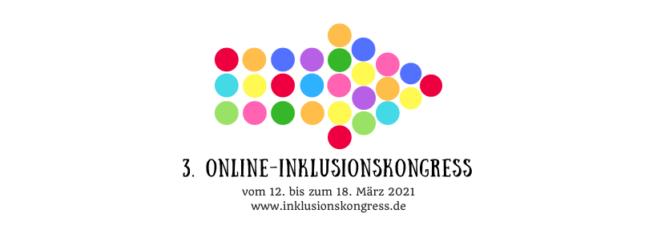 Logo des 3. Inklusionskongresses