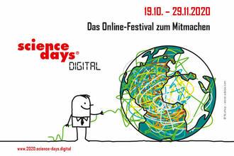Titelbild der Science days digital 2020