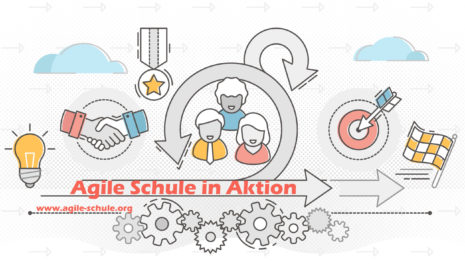 Logo Agile Schule in Aktion